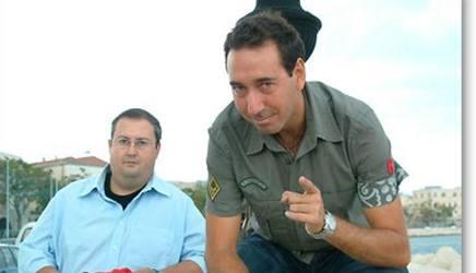 Da sinistra: Fabio e Mingo, ex inviati di Striscia la Notizia. Archivio Gazzetta
