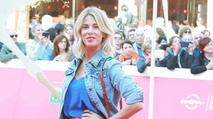 Alessia Marcuzzi, 43 anni. LaPresse
