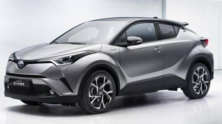 Il crossover compatto Toyota C-HR