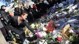 Il giorno dopo l'attentato, il 13 novembre scorso. Afp