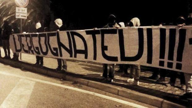 Buon Natale Ultras.Pescara Choc Alla Festa Di Natale Sputi Calci