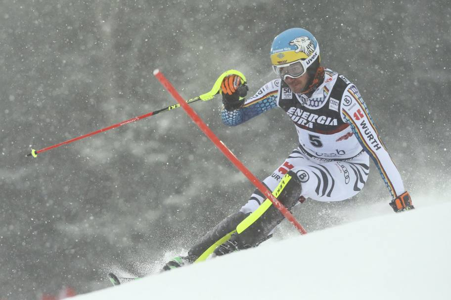 Felix Neureuther in azione (Reuters)