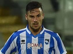 Valerio Verre, 23 anni, centrocampista del Pescara. Getty Images