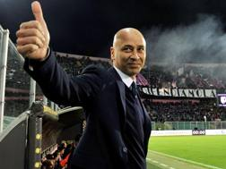 Il tecnico del Palermo Eugenio Corini. Getty