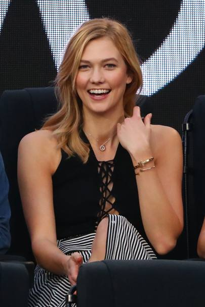 La modella e blogger Karlie Kloss (Getty Images)