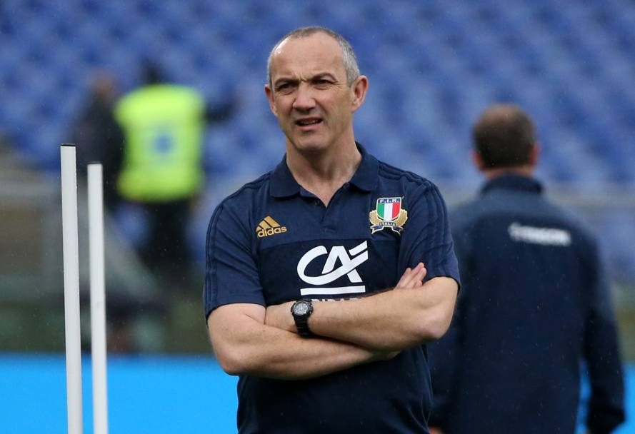 Conor O'Shea. (Reuters)