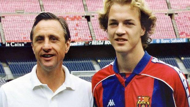 Johan e Jordi Cruijff