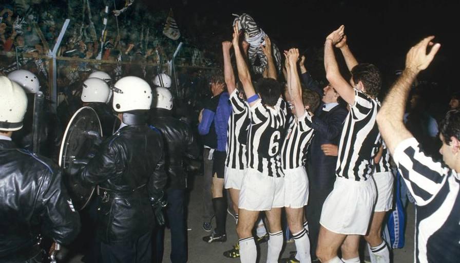Juve Tardelli E La Coppa Vinta All Heysel Non