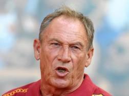 Zdenek Zeman, 70 anni. LAPRESSE