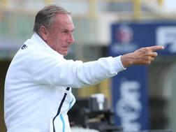 Zdenek Zeman, 70 anni, allenatore del Pescara. Ansa