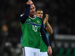 Kyle Lafferty, 29 anni. Afp