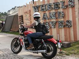 L'arrivo a Wheels & Waves