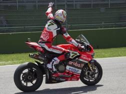 Chaz Davies, 30 anni, pilota della Ducati. Getty Images