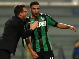 Di Francesco e Defrel al Sassuolo: si ritroveranno a Roma. Getty Images