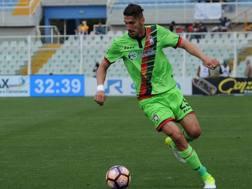 Marcello Trotta, 24 anni, giocherà per il secondo anno di fila in prestito al Crotone. LaPresse
