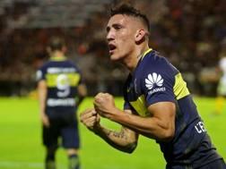 Ricardo Centurion, 24 anni, la scorsa stagione al Boca Juniors: è appena tornato al Genoa, con cui aveva già giocato nel 2013-14. Afp
