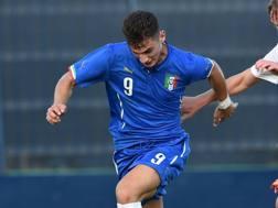 Federico Bonazzoli, 20 anni, attaccante Sampdoria. LaPresse
