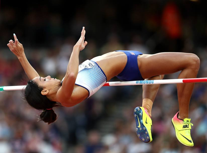 Katarina Johnson-Thompson. Getty images