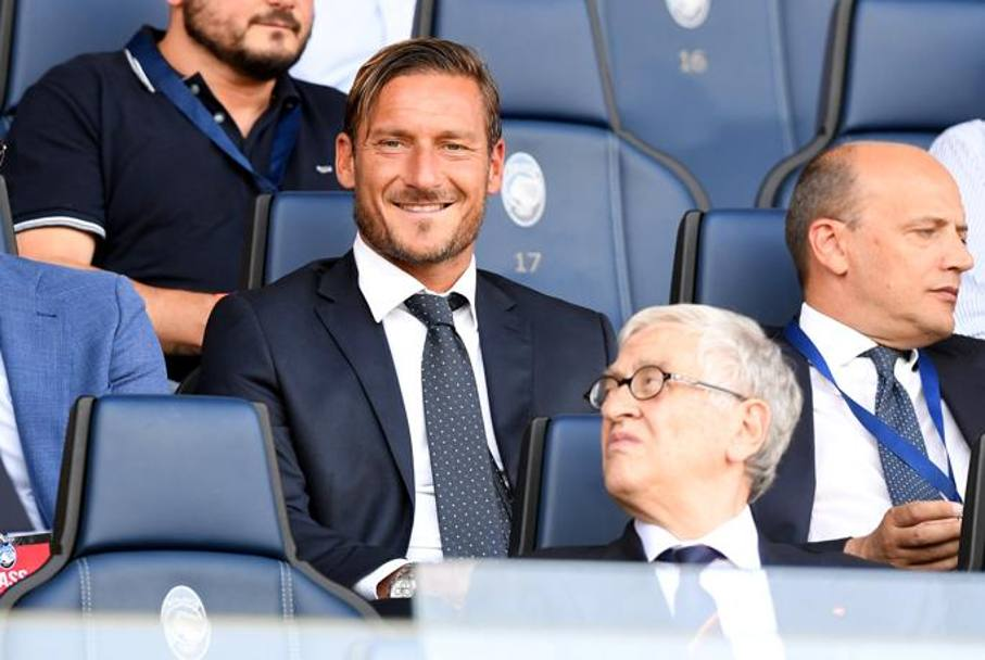Totti in tribuna Reuters