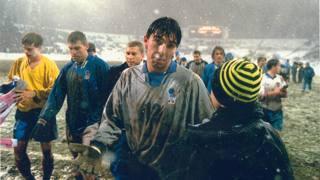 L'esordio di Buffon il 29 ottobre 1997 a Mosca contro la Russia nelle qualificazioni ai Mondiali di Francia '98. Olympia