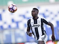 Moise Kean, attaccante classe 2000 della Juventus. Lapresse