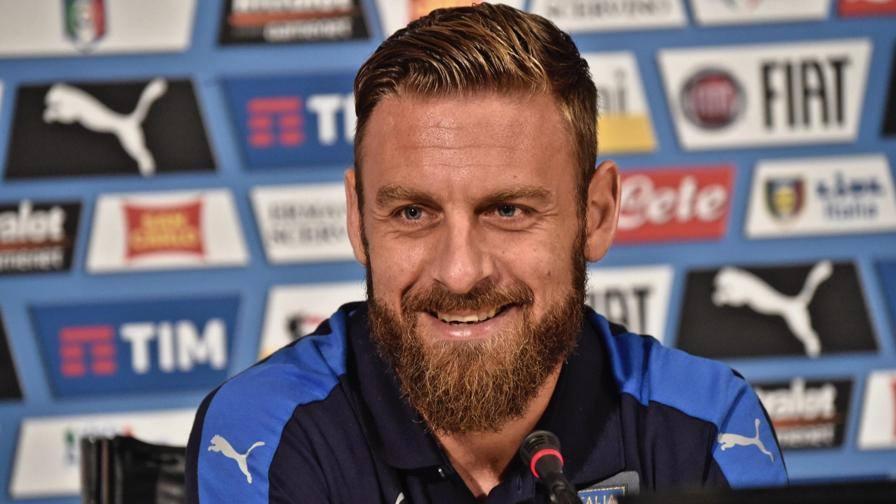 """Nazionale, De Rossi: """"Spagna favorita, ma possiamo fare l'impresa"""""""