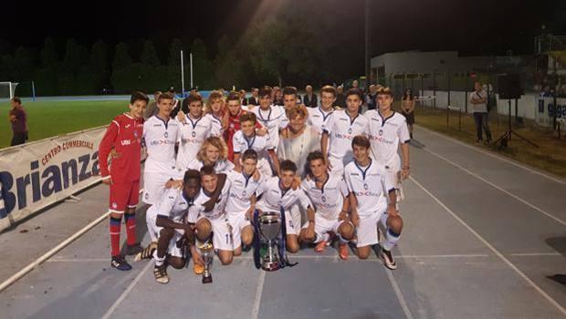 L'Atalanta under 15, campione a Cinisello Balsamo