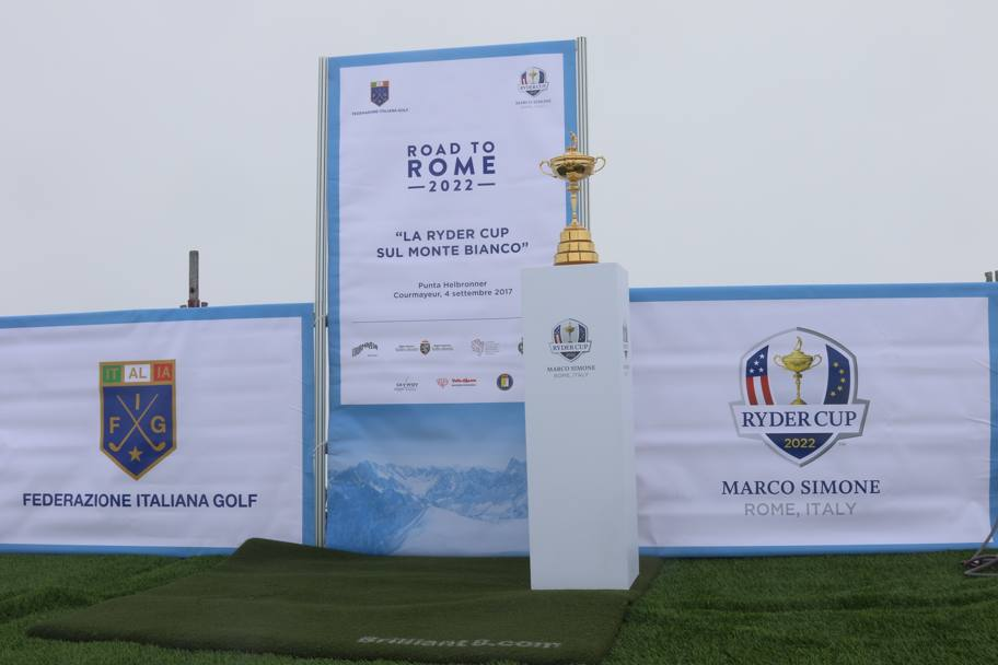 Ryder Cup Monte Bianco