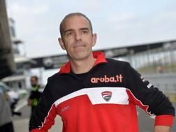 L'ingegnere Ernesto Marinelli, dal 1995 al servizio della Ducati per le competizione Superbike