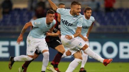 Ciro Immobile, doppietta al Cagliari. Getty