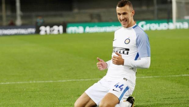 Ivan Persic, autore del gol vittoria dell'Inter contro il Verona.
