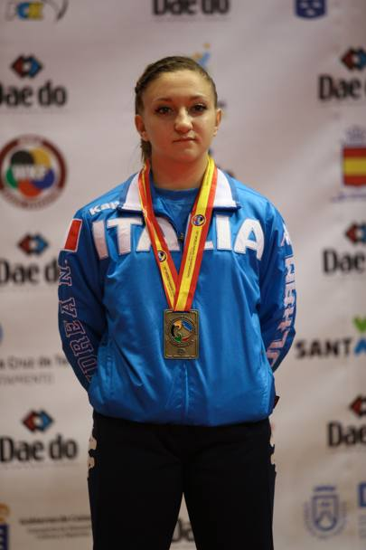 Carolina Amato, bronzo nel kata juniores