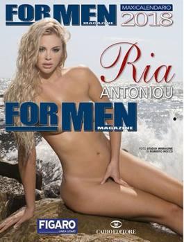 For Men Calendario.Ria Antoniou Una Dea Greca Per Il Calendario Di