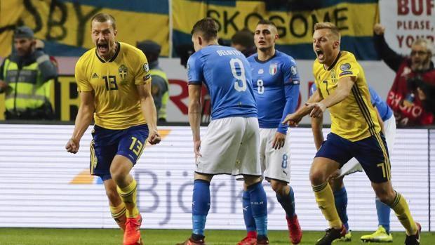 Risultati immagini per svezia italia 1-0 gazzetta.it