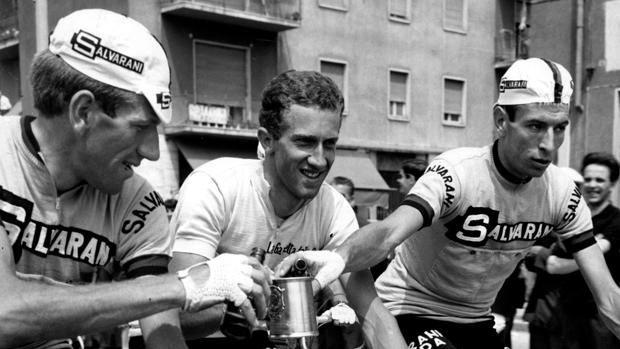 Vittorio Adorni remporte son seul Giro