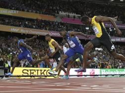 Gatlin batte Bolt ai Mondiali di Londra