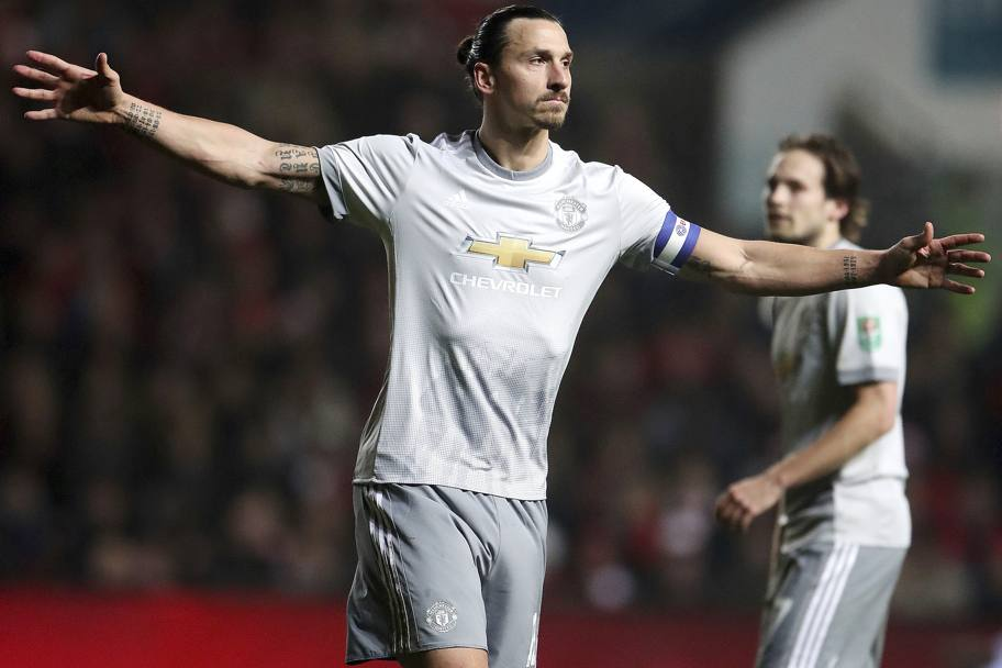 Zlatan Ibrahimovic (United)