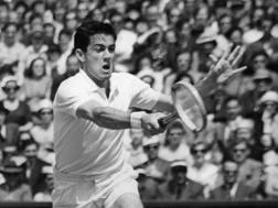 L'australiano Ken Rosewall, primo vincitore di un torneo Open