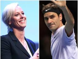 Federica Pellegrini e Roger Federer, atleti Gazzetta dell'anno. LaPresse