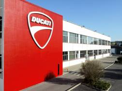 La factory Ducati a Borgo Panigale
