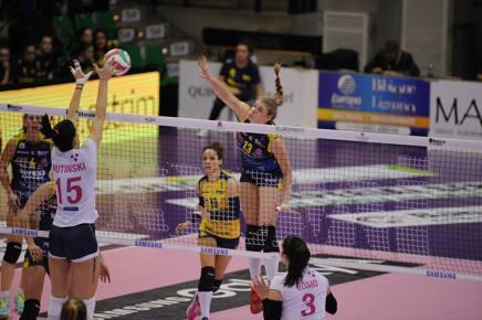 Volley, A-1 donne: Conegliano e Novara senza