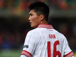 Han, 19 anni, attaccante Perugia. Getty Images