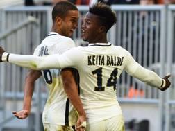 Keita Baldé, 22 anni, attaccante Monaco. AFP