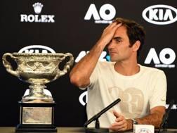 Roger Federer, sesto trionfo all'Australian Open. Afp