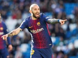 Aleix Vidal, 28enne terzino spagnolo del Barcellona. Epa