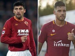 Walter Samuel in giallorosso dal 200 al 2004 ed Emerson Palmieri, appena ceduto al Chelsea per 20 milioni.