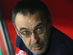 Maurizio Sarri, 59 anni. Ansa