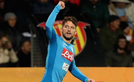 Dries Mertens. Getty