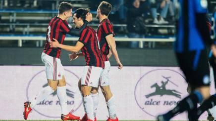 L'esultanza di Emir Murati, 17 anni, per la rete dell'1-0. Lapresse