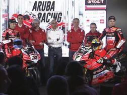 La presentazione del team Aruba Ducati Superbike per il 2018
